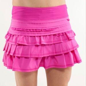 🦄 RARE FIND! Lululemon Run: Back On Track Skirt